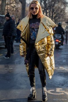 Paris Fashion Week Men's Lanvin AW17 Street Style