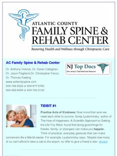 Check out this Mad Mimi newsletter. Healthy Tidbits from AC Family Spine #chiropractic #health