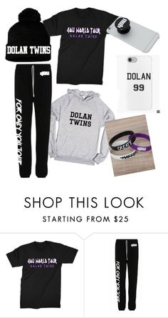 """Dolan twins merch❤️"" by chloe-h-hardy ❤ liked on Polyvore featuring dolantwintuesday"
