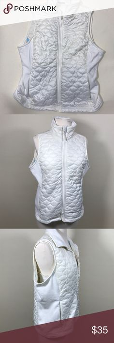 L.L. Bean white/cream vest L.L. Bean white, cream vest full zipper. Quilted. In great condition, signs of wear but tons of life left. L.L. Bean Jackets & Coats Vests
