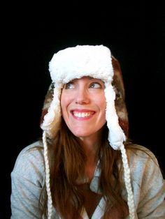 DIY winter hat by Stephanie Hillberry, via Flickr