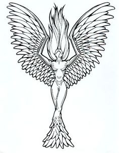 Phoenix Tattoo Designs for Women | tattoo designs phoenix 04 | The Collectioner