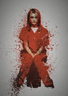 steel canvas Movies & TV ora nge is the new black pop culture splatter alex vause piper chapman red prison weeds lesbian hot Orange Is The New Black, Best Tv Shows, Movies And Tv Shows, Piper Chapman, Alex And Piper, Lesbian Hot, 12 Monkeys, Splatter Art, Netflix