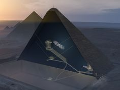 Scientists have used a scanning technique to find a new chamber in the Great Pyramid.