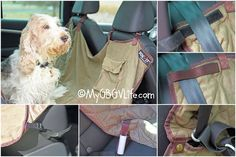 My GBGV Life A Hammock Seat Cover Keeps Your Car Clean And Your Dog Happy
