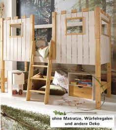 Kinderbett baumhütte  Kinderbett Baumhütte   Kinder   Pinterest   Tipi, Kids s and Kids ...