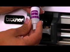 Brother™ ScanNCut Feature: Working with ScanNCut Blades - YouTube
