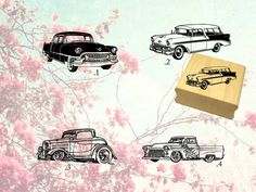 Hey, I found this really awesome Etsy listing at https://www.etsy.com/listing/252607100/set-of-4-scrapbooking-vintage-cars