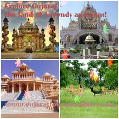 Explore Gujarat - the land of Legends and lions! We have featured the best tourist places in Gujarat for your lovely vacations. Visit to the Religious place like Dwarka, Somnath, Pavagadh, Ambaji, Bhadreshwar, Shamlaji and Taranga; Jain temples, at Palitana and Girnar Hill. Come and join us at bit.ly/1A1DDxc.