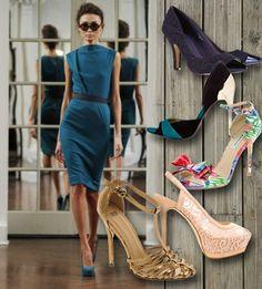 Το Queen.gr σας βρίσκει τα ιδανικά παπούτσια για το πετρόλ φόρεμα