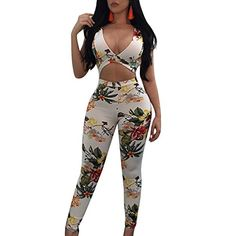 Women's Clothing 2019 Rompers Womens Jumpsuit Sexy Print Beach Playsuits Backless Chiffon Summer Playsuits Plus Size Moderate Cost