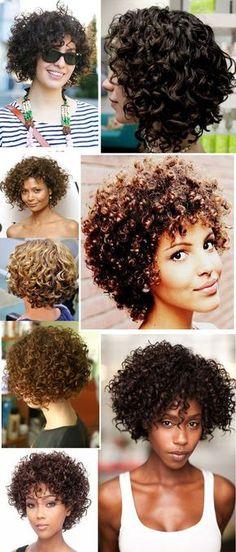 Trendy hair color tips short Curly Hair Tips, Curly Hair Care, Kinky Hair, Short Curly Hair, Short Wavy, Curly Girl, Wavy Hair, Natural Hair Styles, Short Hair Styles