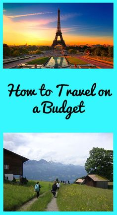How to Travel on a Budget! Must-know tips for #college students and recent grads