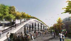 Green-Roofed Sydhavn School Will Terrace Elegantly Down to Copenhagen's Harbor | Inhabitat - Green Design, Innovation, Architecture, Green Building