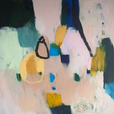 PRINT of ABSTRACT PAINTING large modern giclee by LolaDonoghue