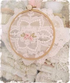 lace/embroidery hoop