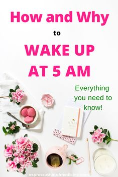 All you need to know to find the motivation to wake up early in the morning! Whether it is to work out, or study these actionable tips will help turn you from a night owl to an early morning riser! From trusted MD - Dr. Mental Health Care, Mental Health Matters, Women's Health, Ways To Wake Up, How To Wake Up Early, Womens Health Care, How To Get Clients, Espresso Shot, Stomach Problems
