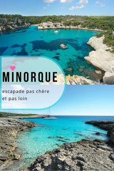 Minorque - Espagne: nous sommes arrivés à Minorque dansl es baléares dans l'idée de nous y installer 6 semaines en mode nomade digitaux. Très franchement on est ravis de notre choix, Minorque est un vrai petit coin de paradis! Hors saison c'est un pur bonheur d'avoir les plages de rêve pour soi et on a pu faire quelques magnifiques randonnées. Tour d'horizon dans cet article. #minorque #espagne #baleares #menorca #voyage #nomade #europe #ile # ilesbaleares #paradis