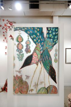 GRETCHEN WELLER HOWARD | Recent & Available Paintings    I love her work - so playful and full of color and wonderful shapes!