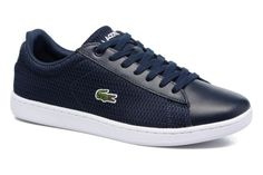 Carnaby Evo 217 1 W Navy -95e Lacoste Trainers, Lacoste Sneakers, Black Sneakers, Shoes Sneakers, Sanuk Shoes, Shoes Sandals, Dress Shoes, Basket Lacoste, Basket Noir