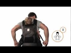 ERGO - How To Back Carry in the Ergobaby Carrier
