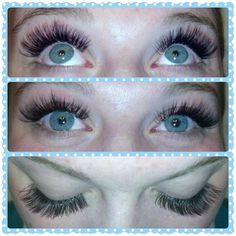 Her eyes are gorgeous! Done by Morgan Tebbs McGrath at Ida Jane. Insta:@_idajane_ Www.vcita.com/v/idajane #IdaJane #eyelashextensions #lashextension #eyes #blueeyes #lashes #minnesotalashes #alaskalashes #fairbankslashes