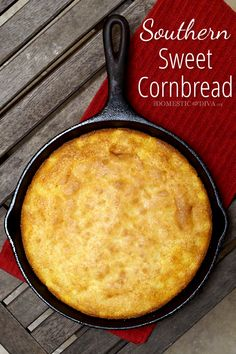 It's true that we like some of our food sweet here in the south. It's true for our tea (a southern staple) and it's definitely true when it comes to cornbread. Some would argue that sweet southern ...