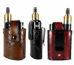 Dampf-Kolben-Leder-Holster, handgefertigte Vaporflask Fall