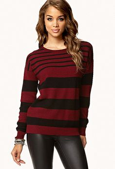 Multi-Striped Sweater | FOREVER 21 - 2062942264