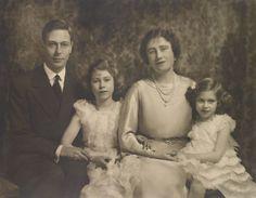 King George, Rei George Vi, Roi George, Edward Viii, Queen Mary, Queen Elizabeth Ii, Rare Photos, Photos Du, Margaret Rose