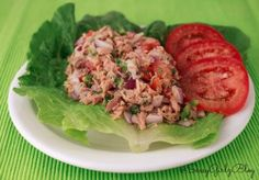 Tuna Salad Kicked Up - Paleo Spicy Tuna Ceviche Yum! This would be a good