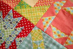 Farmer's Wife baby quilt WIP by freshlypieced, via Flickr