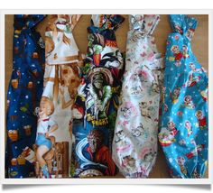 A collection of sweet vintage dungarees from Tabitha's Treasure Chest.