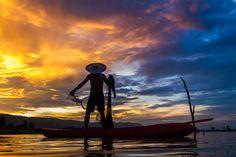 Photograph Fisher action by Sornranison Prakittrakool on 500px