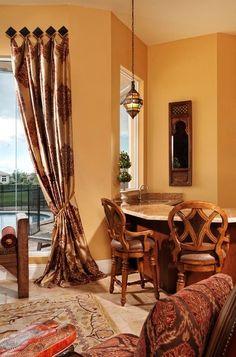 Morroccan Living Room - mediterranean - Living Room - Miami - Interiors by  Myriam, LLC