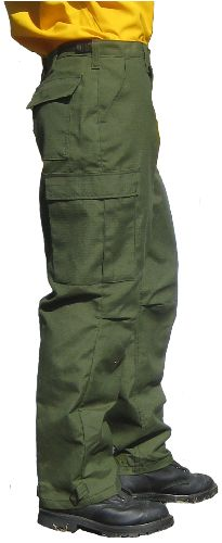 00883e2427ad7  what the firefighters are wearing  Federal Style Advance Fabric  Traditional Wildland BDU Fire Pants