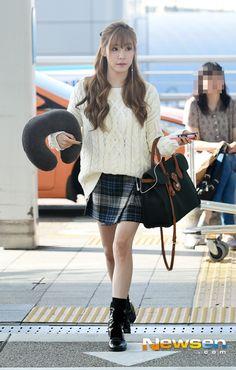 140906 Tiffany @ ICN Airport