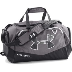 Under Armour Undeniable II Small Duffel Bag - Graphite Boys Summer Outfits, Sport Outfits, Under Armour Backpack, Dance Gear, How To Store Shoes, Garment Bags, Travel Wardrobe, Costume, Duffel Bag