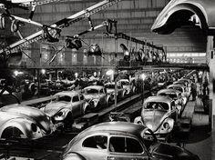 Eine Woche in Volkswagenwerk, 1953.