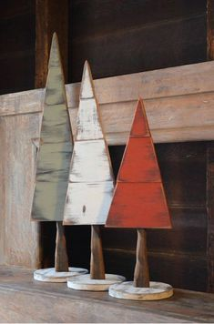 Base and tree totals 22 high, Tree height itself is All handmade by John La Porta. The wood color and texture may slightly vary from the listings pictures. Just as in nature, you may find cracks, variations in the wood and other natural imperfections i