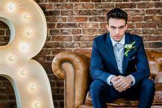 Grooms Look - Rustic Glamour.  #groom #suit #wedding