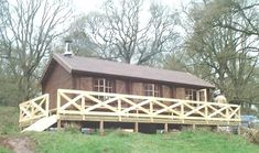 Log cabin on stilts Eden Valley Cumbria - This is advanced DIY with wood - But still DIY = I designed and built it!