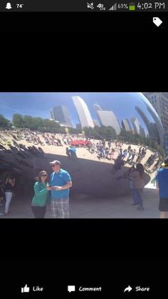 Look we are on the bean