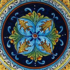 Deruta Italian pottery