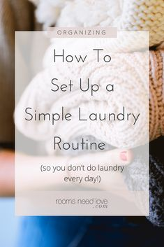How To Set Up A Simple Laundry Routine (so you're not doing laundry every day!) This laundry routine is very simple, efficient, and you can get away with doing laundry once a week! Learn how to set it up and get caught up. Home Renovation, Home Remodeling, Doing Laundry, Laundry Hacks, Laundry Schedule, Magnolia Journal, Laundry Shelves, Organization Hacks, Household Organization