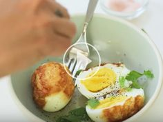 Next Level Hard Boiled Eggs ?The easiest recipe ever AND a video posted on @mixedmakeupHow about switching up your morning routine with these wonderfully crispy bites of joy? Check out the video for details.As always, make sure to subscribe to my YouTube channel with Mixed