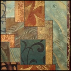 Karen McCarthy mixed media collage - Harmony, # 10