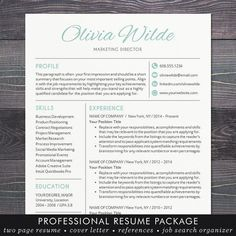 Resume Maker For Mac Resume Template With Photo  Cv Template For Word Mac Or Pc .