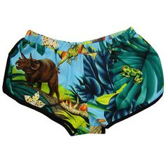 Dinosaurs Hawaii 5-0 Shorts, $38, now featured on Fab.