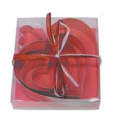 R and M Heart 5 Piece Cookie Cutter Set => Quickly view this special product, click the image : Baking Accessories